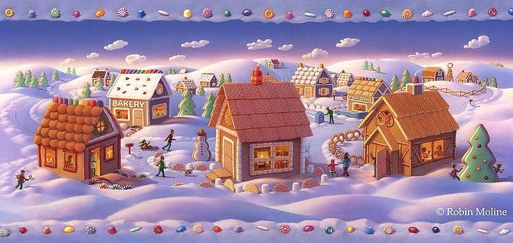 Robin Moline - Gingerbread Town