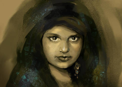 Gypsy girl by Anastasia Michaels