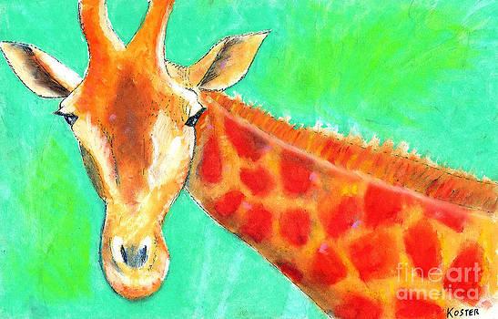 Giraffe by Aaron Koster
