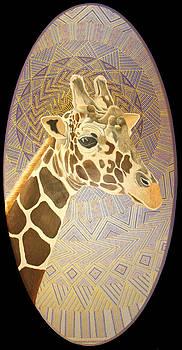 Giraffe by Amanda  Lynne