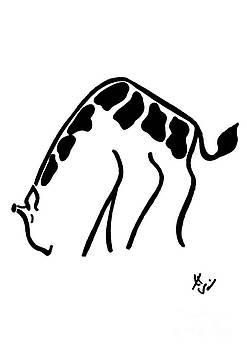 Giraffe by Ingrid Barlebo-Larsen