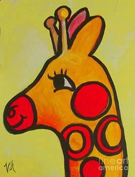 Giraffe by Lyn Vic