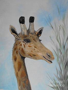 Giraffe Smile by Rhonda Lee