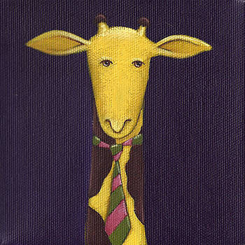 Christy Beckwith - Giraffe Wearing Tie