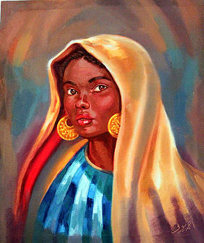 Girl From Nuba  by Ahmed Bayomi