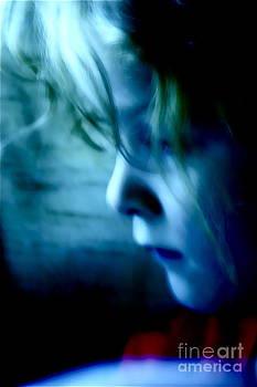 Girl In Blue by Xn Tyler
