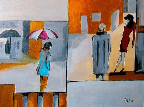 Girl in Red by Mirko