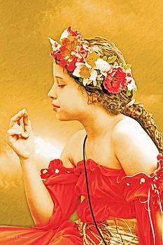 Girl in Red by Ruben  Flanagan
