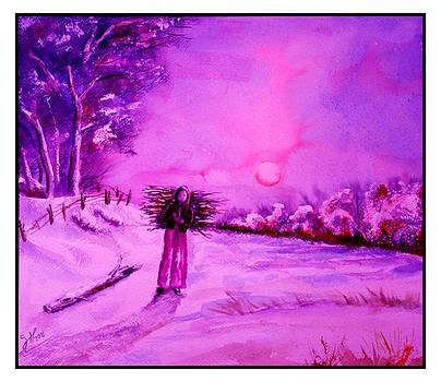 Girl rural by Shirwan Ahmed