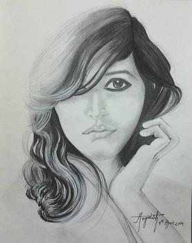 Girl to shy by Angvish Kumar