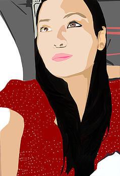 Girl Vector by Allyana Bermejo