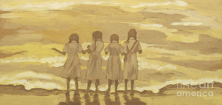 Girls at the Shore by Elizabeth  Berg