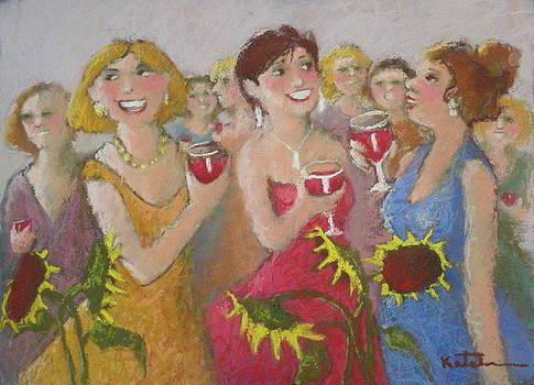 Girls Night Out by Carole Katchen