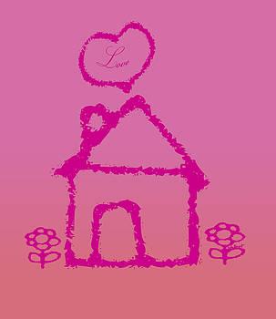 Kate Farrant - Pink Girls room design