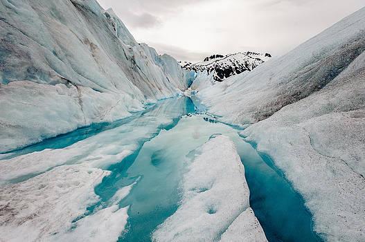 Glacier pathway by Jen Morrison