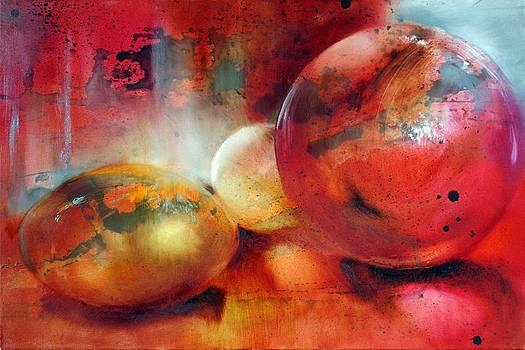 Glass Beads by Annette Schmucker