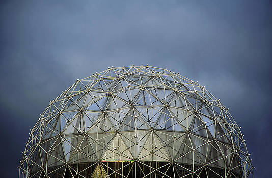Glass dome architecture by Marlene Ford