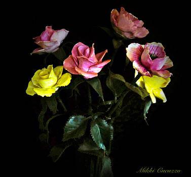 Glass Flowers by Mikki Cucuzzo