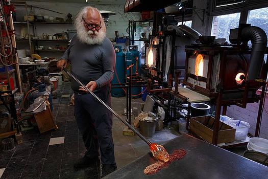 Glass furnace by Paul Indigo