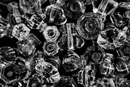 Christopher Holmes - Glass Knobs - BW