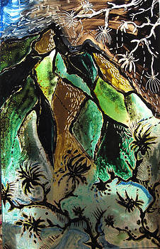 Glass mountains by Verginiya Ivanova