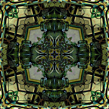 Glass N Iron by Barbara R MacPhail