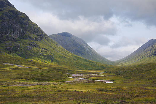 Jane McIlroy - Glencoe in the Highlands of Scotland