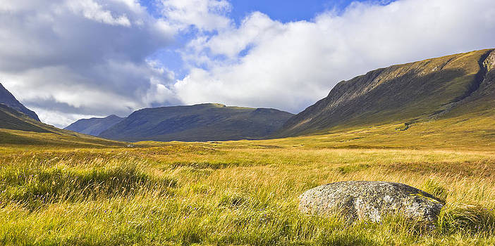 Jane McIlroy - Glencoe Mountains - Scotland