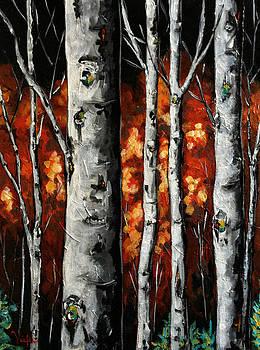 Glimpse of Red by Vickie Warner