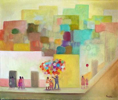 Globos by Aurelio Pescina