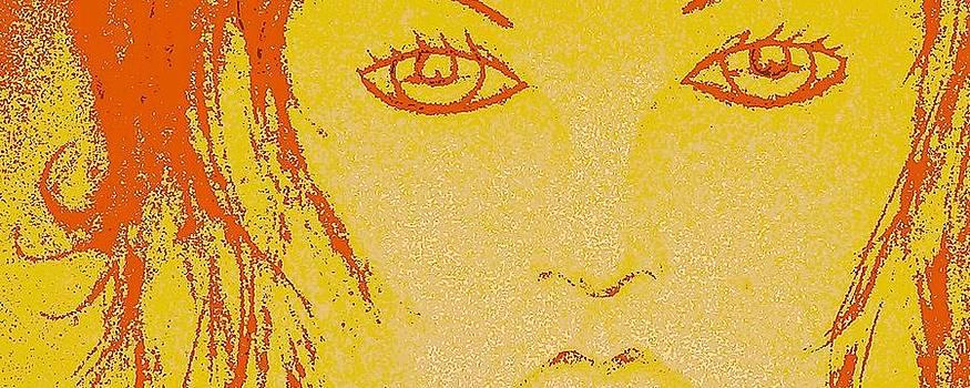 Gloden Eyes by Free Artist