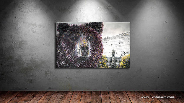 Teshia Art - Glorious Griz DISPLAY IMAGE