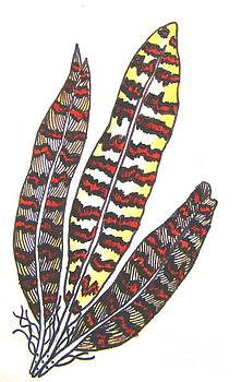 Glow feathers by Priyanka Rastogi