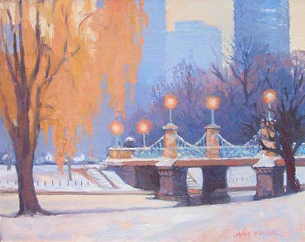 Glow on the Bridge by Dianne Panarelli Miller