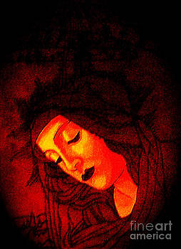Genevieve Esson - Glowing Botticelli Madonna