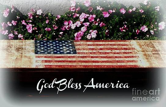 Gail Matthews - God Bless America Bench