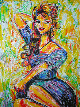 God created woman by Ericka Herazo