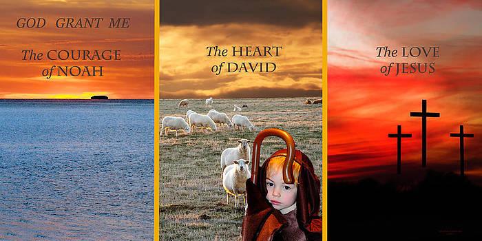 Randall Branham - GOD GRANT ME Courage Heart Love