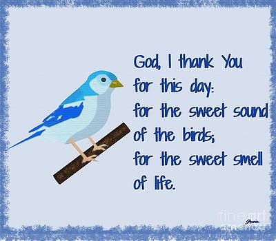 God I Thank You for This Day by Pharris Art