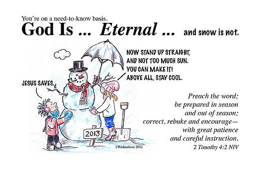 God Is Eternal by George Richardson