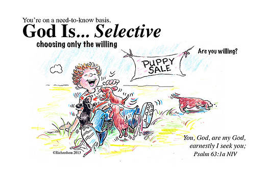 God Is Selective by George Richardson
