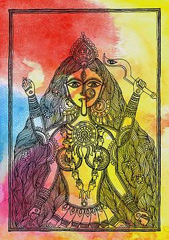 Goddess Kali by Shishu Suman