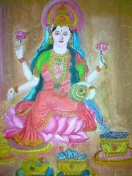 Godess Laxmi by Deepika Lakhani
