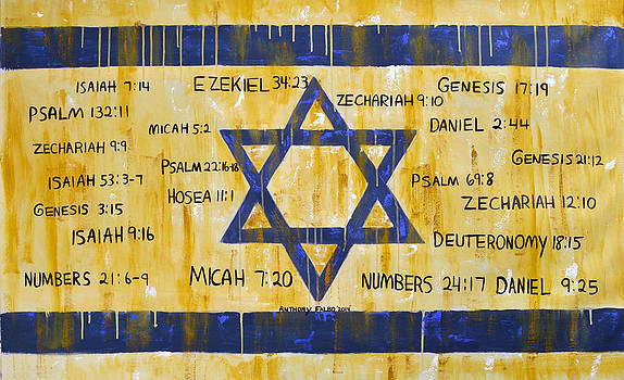Gods Love For Israel by Anthony Falbo
