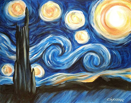 Gogh Starry by Dyanne Parker
