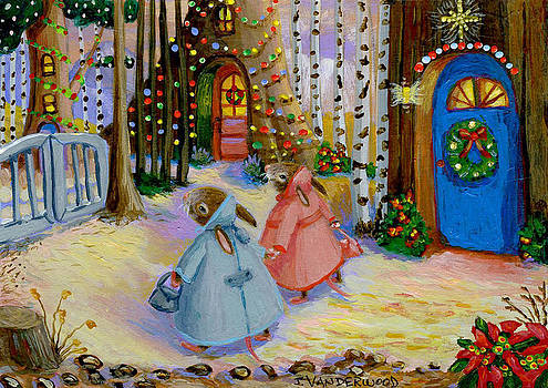Going Christmas Shopping by Jacquelin Vanderwood