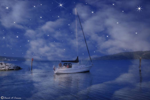 Going Sailing by David Simons