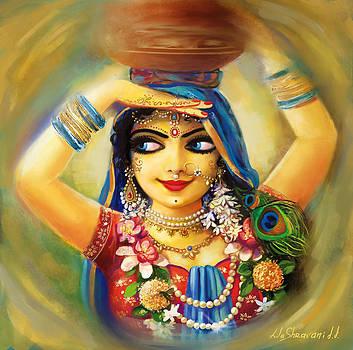 Gold Gauri by Lila Shravani