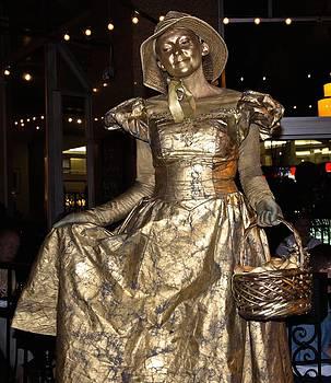 Gold Lady by Lori Miller