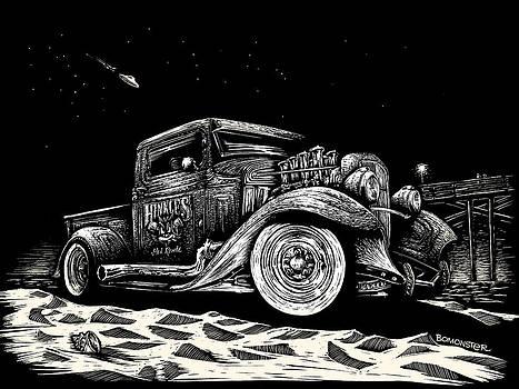 Gold Rush UFO by Bomonster
